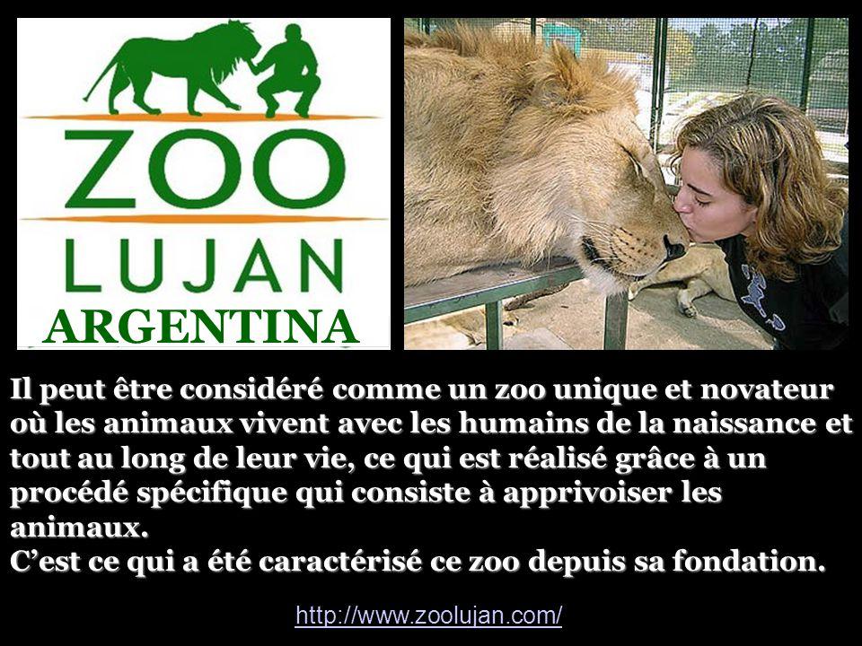 Il peut être considéré comme un zoo unique et novateur où les animaux vivent avec les humains de la naissance et tout au long de leur vie, ce qui est