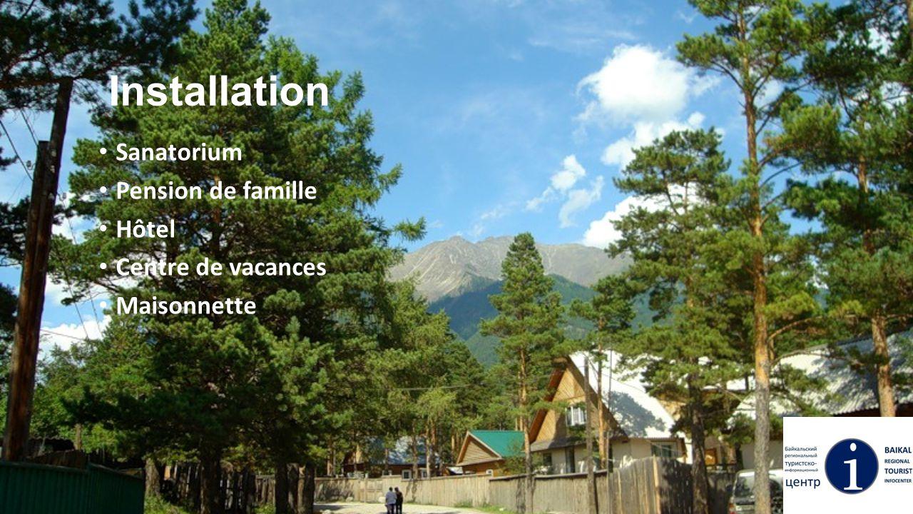 Installation Sanatorium Pension de famille Hôtel Centre de vacances Maisonnette