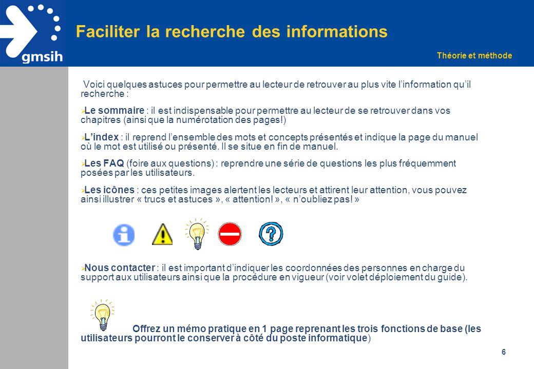 7 Exemple de manuel utilisateur Sommaire du manuel de formation Intranet Cas pratique Document mis à disposition du GMSIH par le CHU de Montpellier