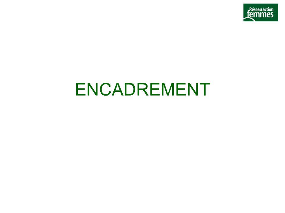 ENCADREMENT
