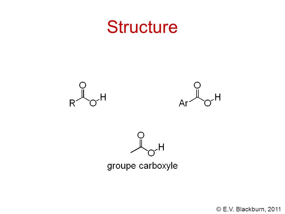 © E.V. Blackburn, 2011 + CH 3 CO 2 H acétate de méthyle Alcoolyse des anydrides