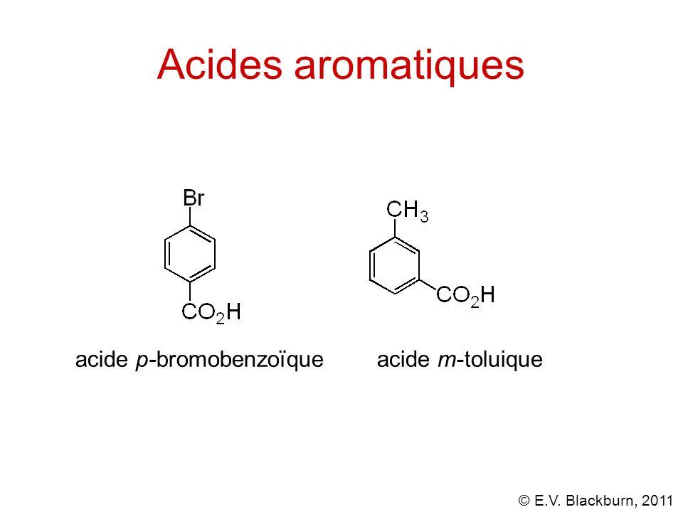 © E.V. Blackburn, 2011 Anhydrides - préparation de l'anydride acétique anhydride acétique