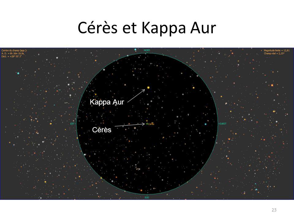 Cérès et Kappa Aur 23 Kappa Aur Cérès
