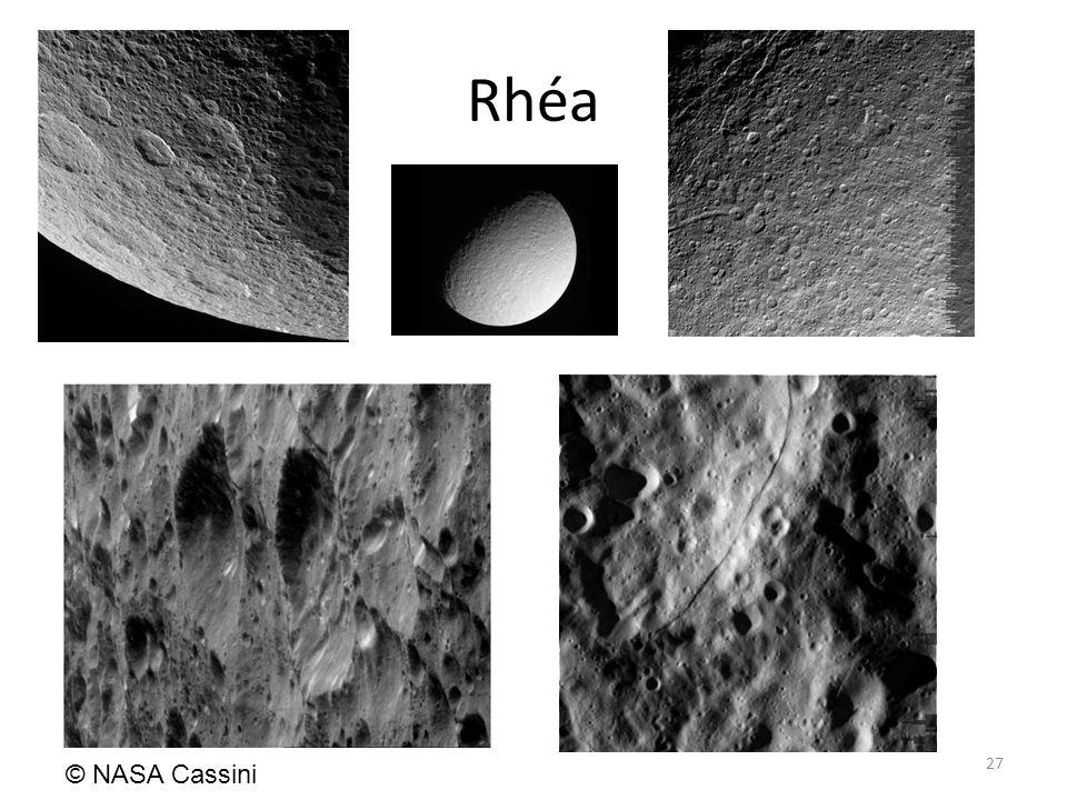 Rhéa 27 © NASA Cassini
