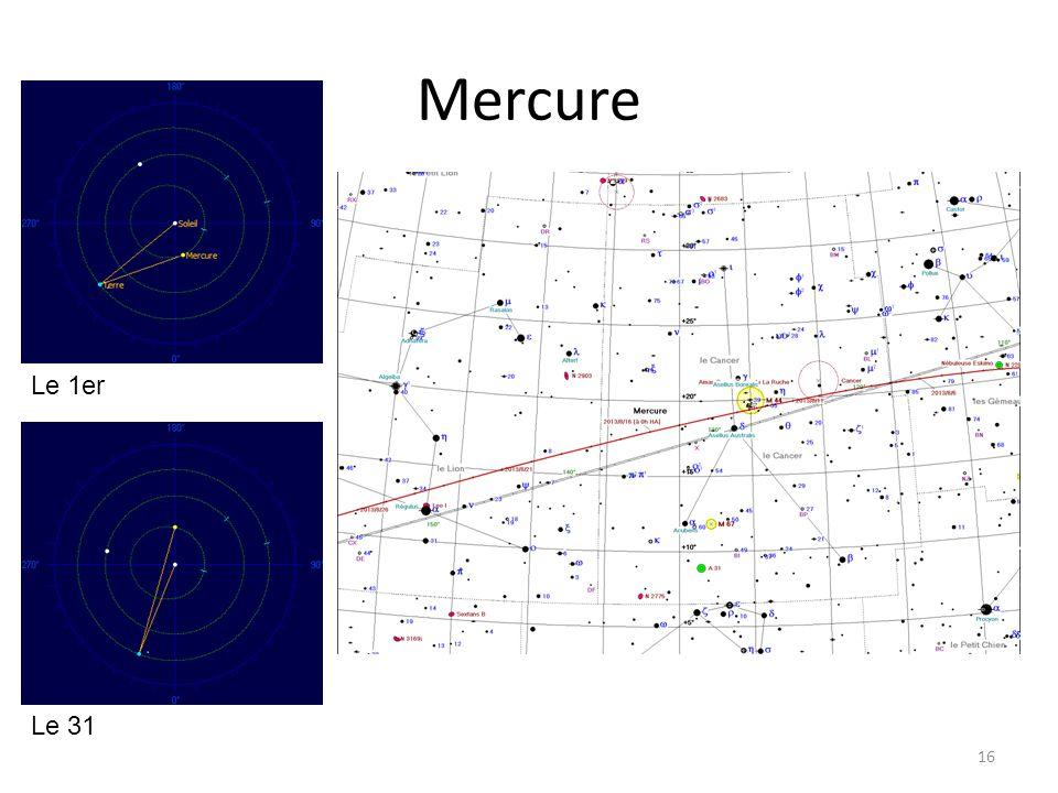 Mercure 16 Le 1er Le 31