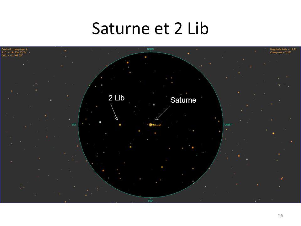 Saturne et 2 Lib 26 2 Lib Saturne