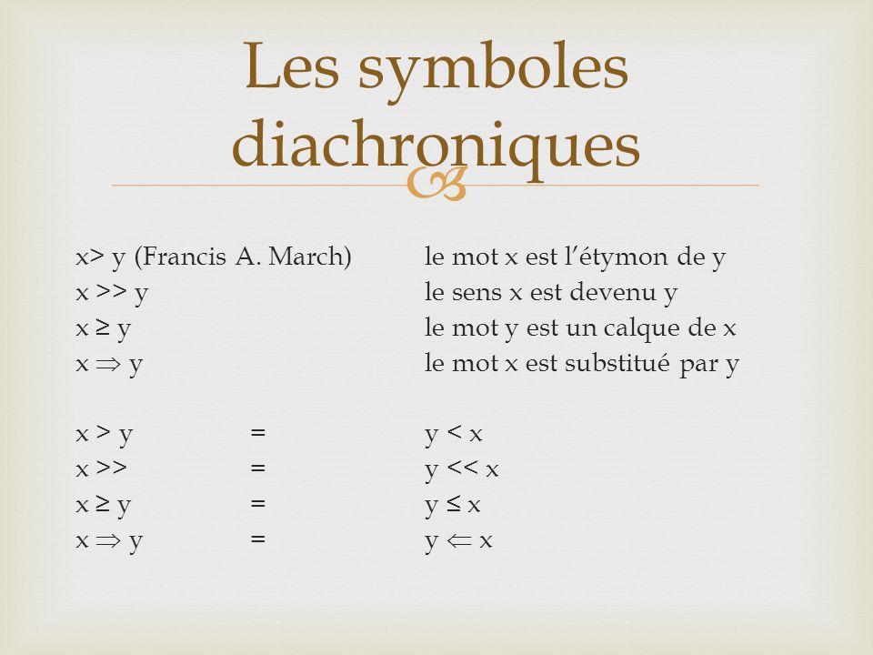  x> y (Francis A.