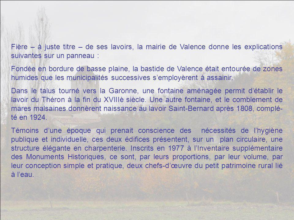 Et celui-ci, le lavoir Del Théron. Cette ville possède trois magnifiques lavoirs