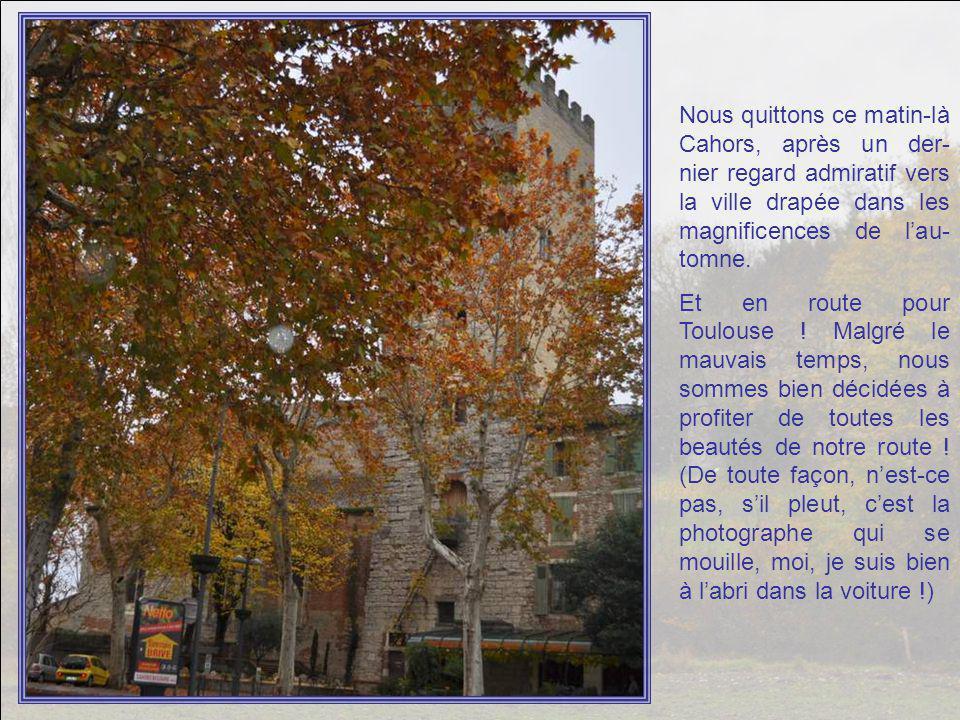 De Cahors à Pompignan en passant par les chemins de traverse : environ 120 km