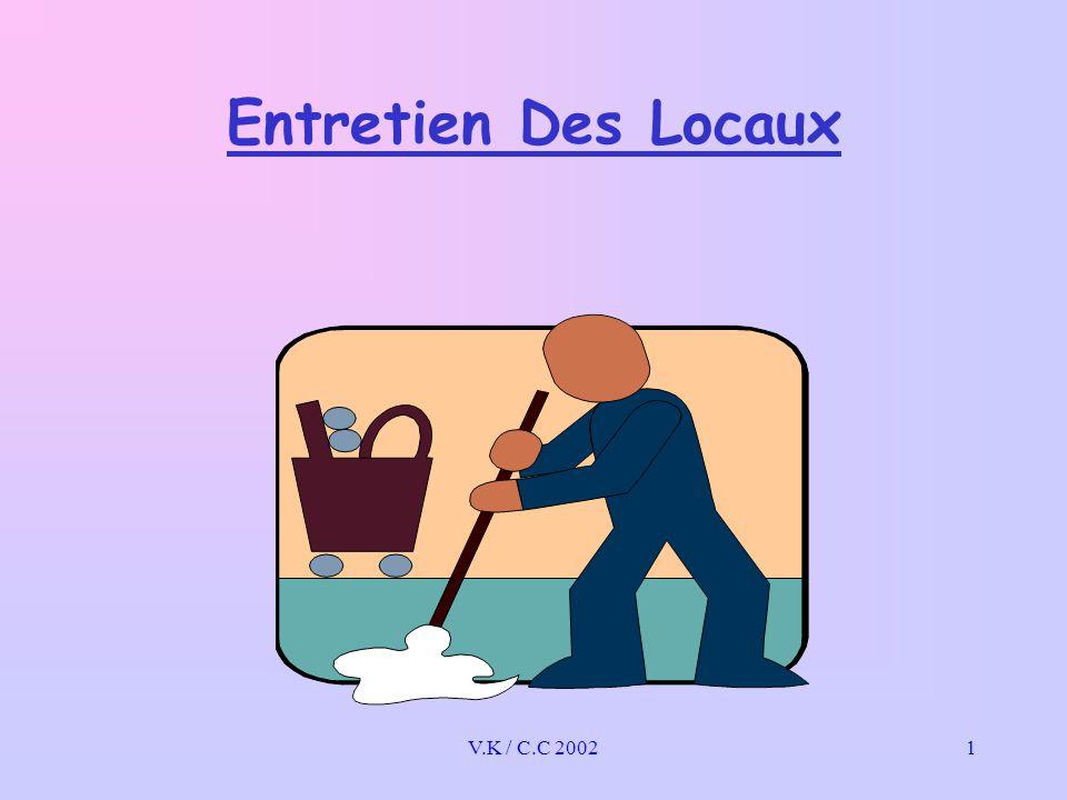 V.K / C.C 20021 Entretien Des Locaux