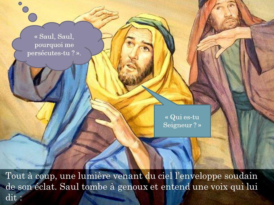 Saul reste quelques jours avec les disciples à Damas et, sans tarder, proclame qui est Jésus dans les synagogues.