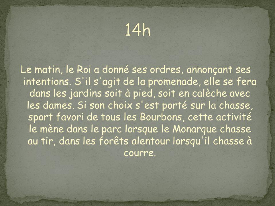 Souvent Louis XIV laisse son fils présider aux divertissements d'intérieur, comme les soirées d'appartements.