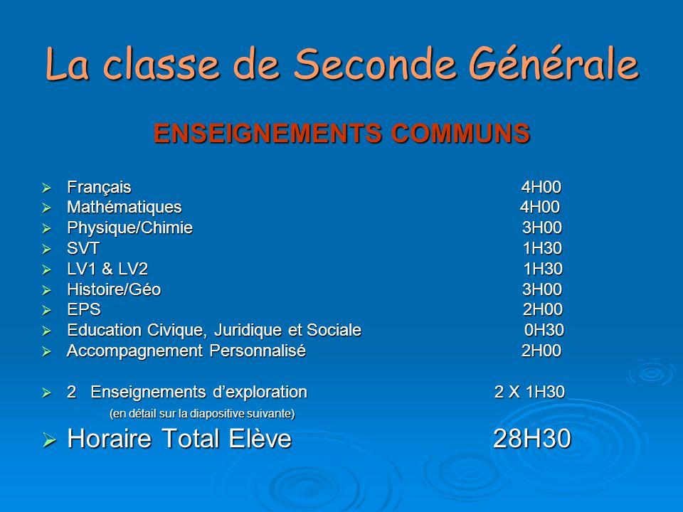 Les classes spécifiques en Seconde  Classe Euro anglais  Classe Euro Allemand  Classe à Pédagogie Freinet  Classe Santé et Social  Classe Bac Pro