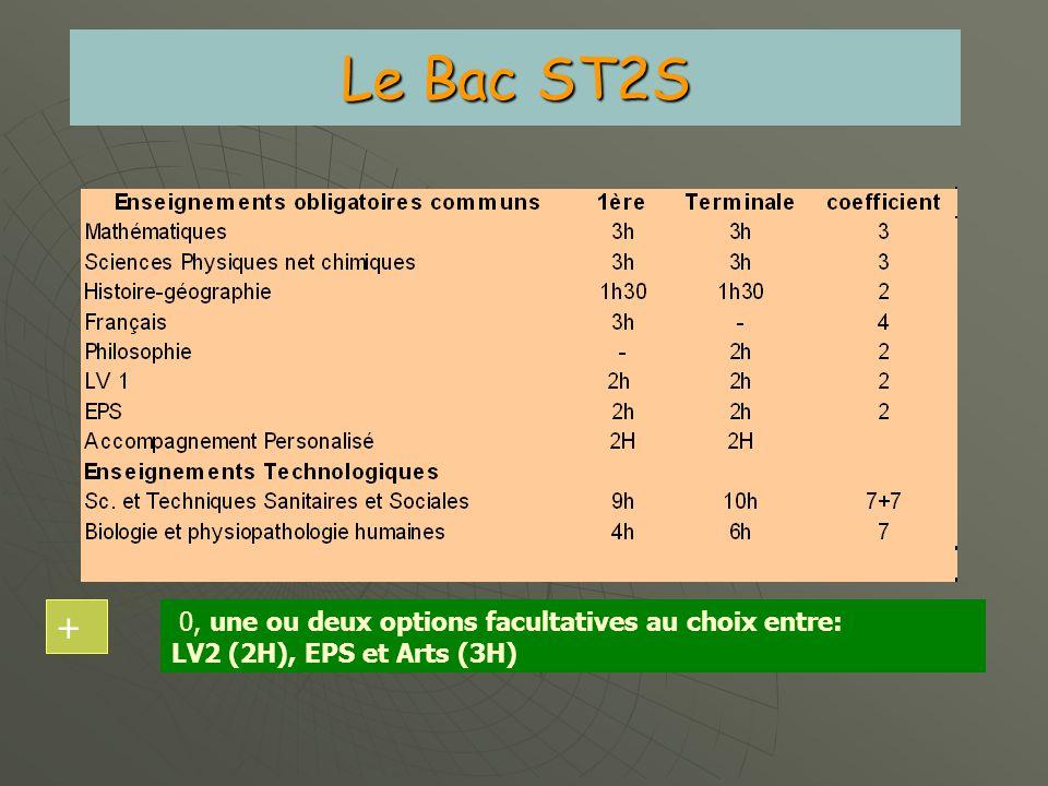 Le Bac Scientifique 0, une ou deux options facultatives au choix: LV3, Latin, Grec, EPS, Arts + Epreuves anticipées fin de 1 ère : Français, Histoire