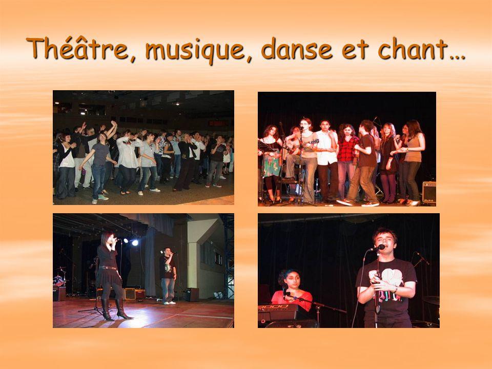 Soirées « Cabaret », « Chapeaux », « Black & White », « Chicago night », « Chic & Choc » et « Chic'ago » organisées par les 2ndes euro