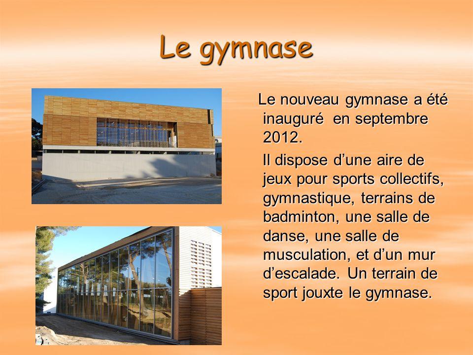 Des installations sportives à proximité  Gymnase de Virebelle ( plateau Sports Collectifs, Tennis de table, Gymnastique, salle de Musculation…)  Ter