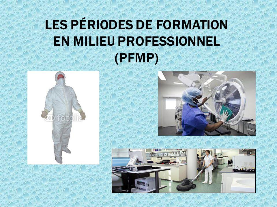 LES PÉRIODES DE FORMATION EN MILIEU PROFESSIONNEL (PFMP)
