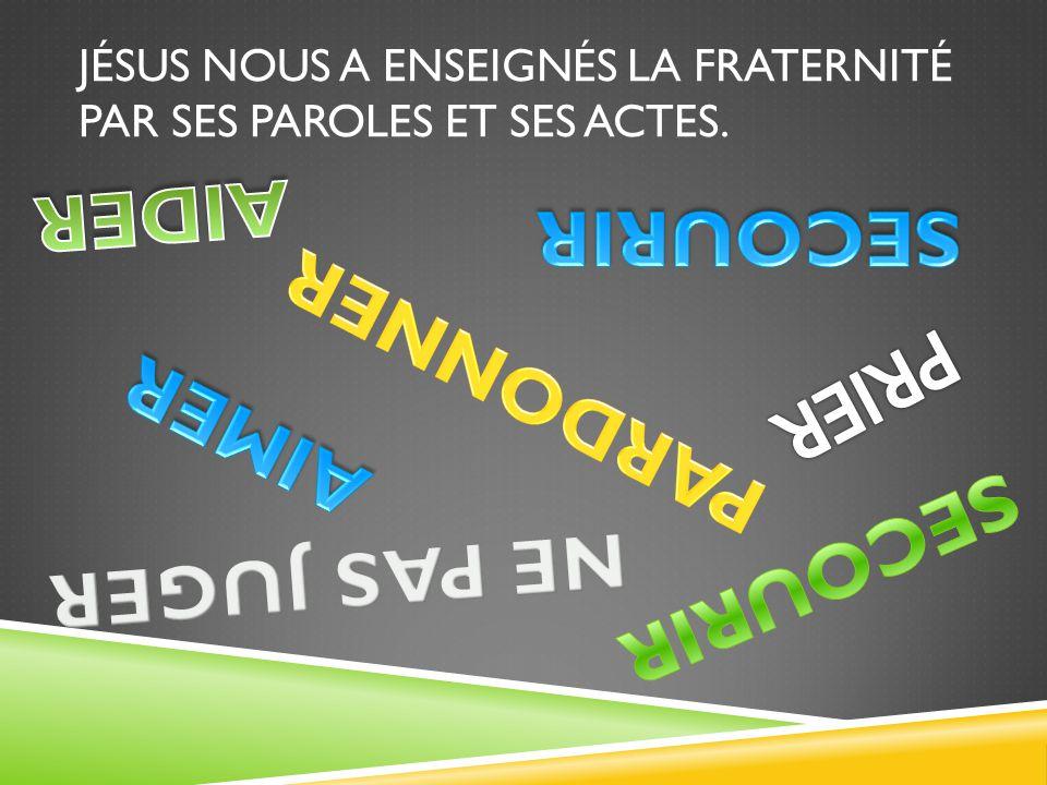 A-1 – LES FONDEMENTS DES FRATERNITÉS LOCALES MISSIONNAIRES.  Simplifier nos organisations pastorales.  Aller à l'essentiel.  La fraternité fait par