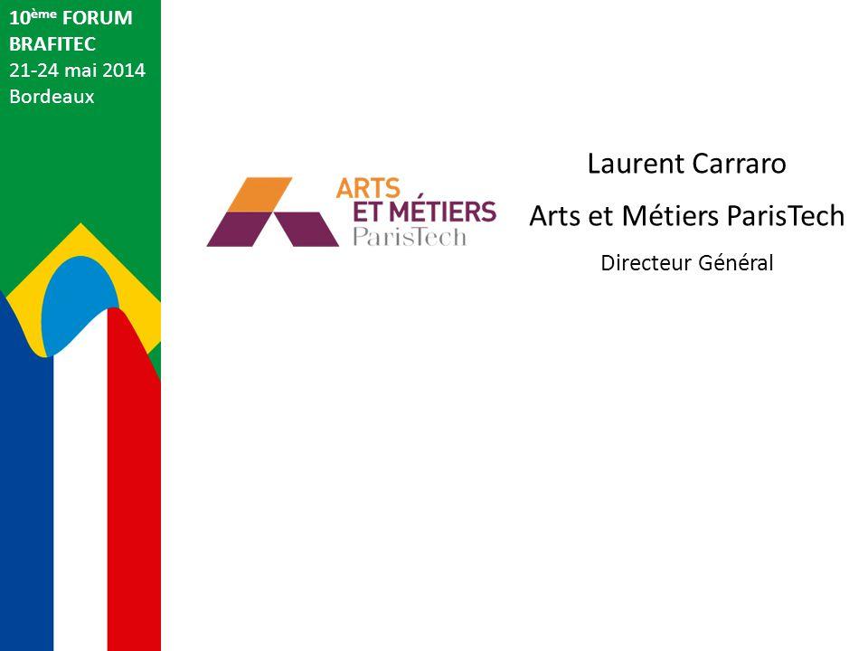 Jacques Gelas Coordonnateur français du Programme Brafitec 10 ème FORUM BRAFITEC 21-24 mai 2014 Bordeaux