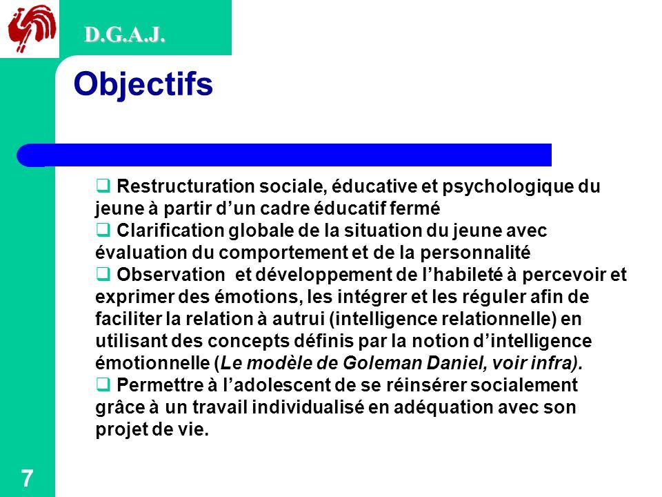 7 Objectifs D.G.A.J.
