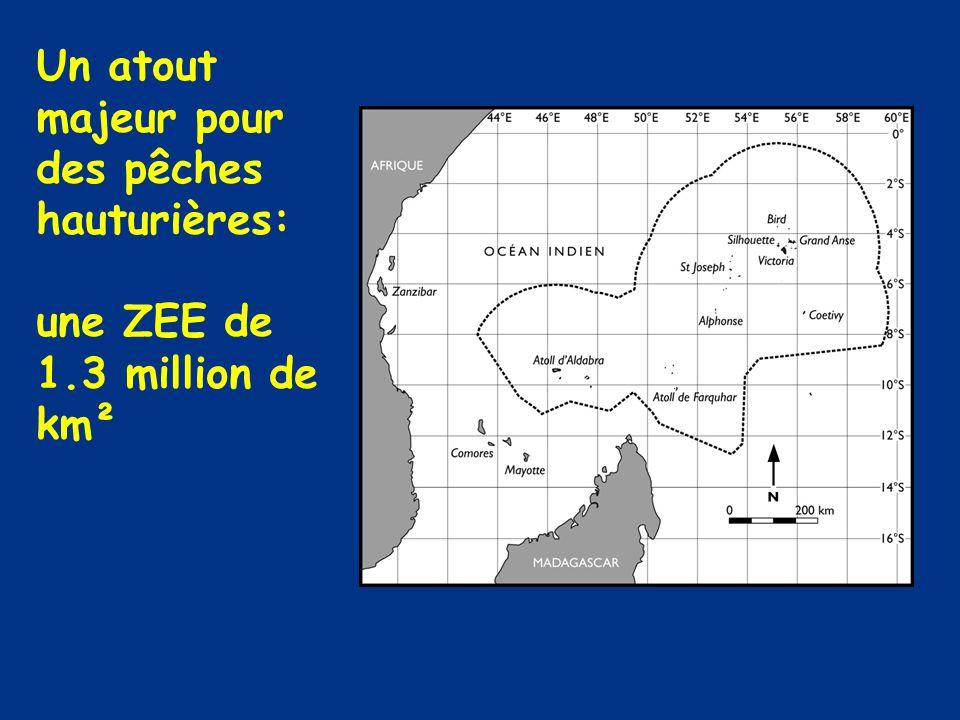 Un atout majeur pour des pêches hauturières: une ZEE de 1.3 million de km²