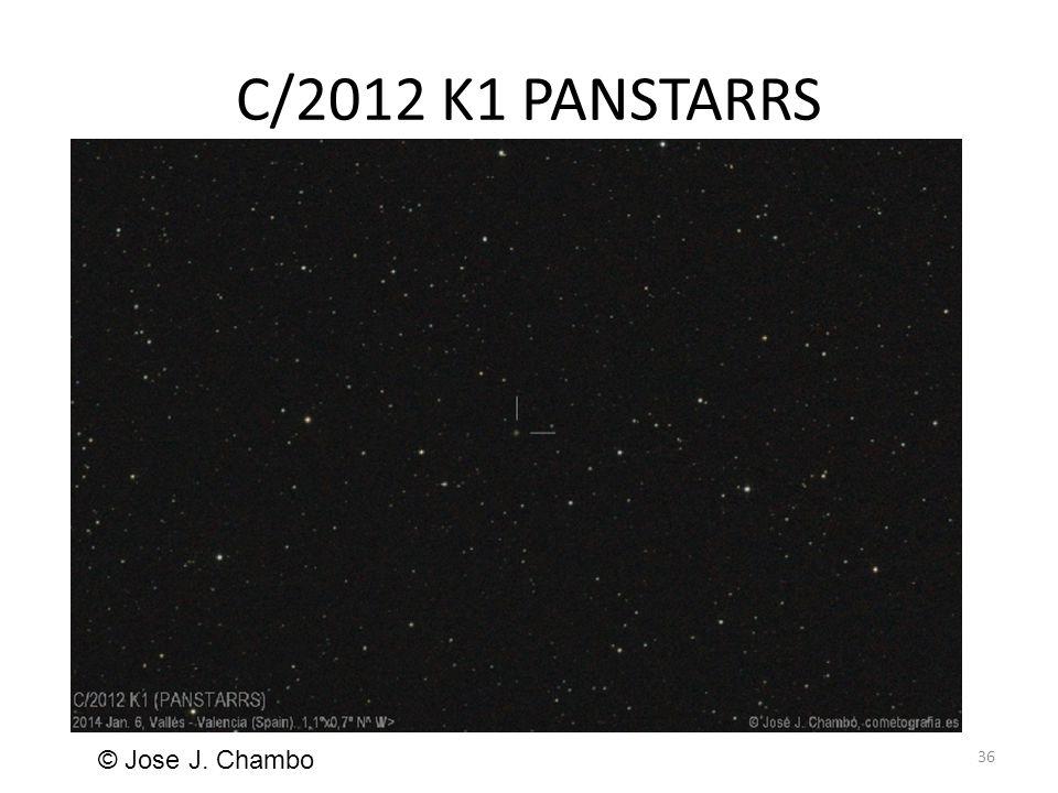 C/2012 K1 PANSTARRS 36 © Jose J. Chambo