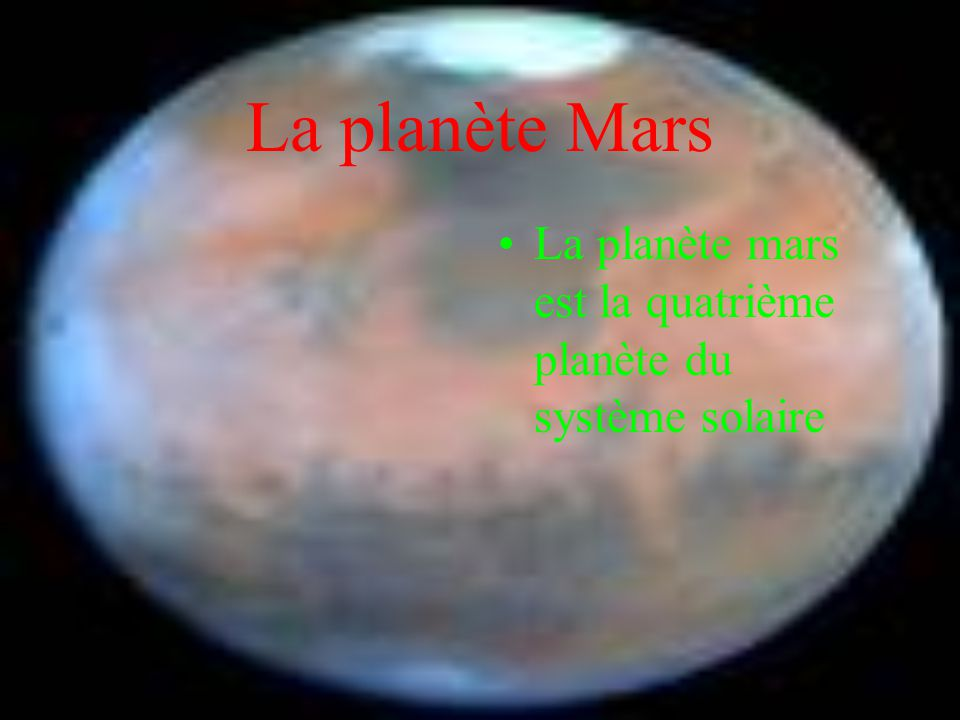 Les satellites de Mars - -
