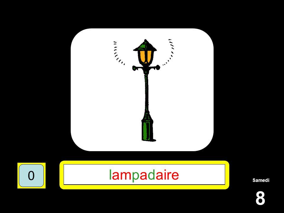 Samedi 8 1510515 ********** 15105 L**P*D**** 151055 LAMPADAIRE 151050 lampadaire 151050