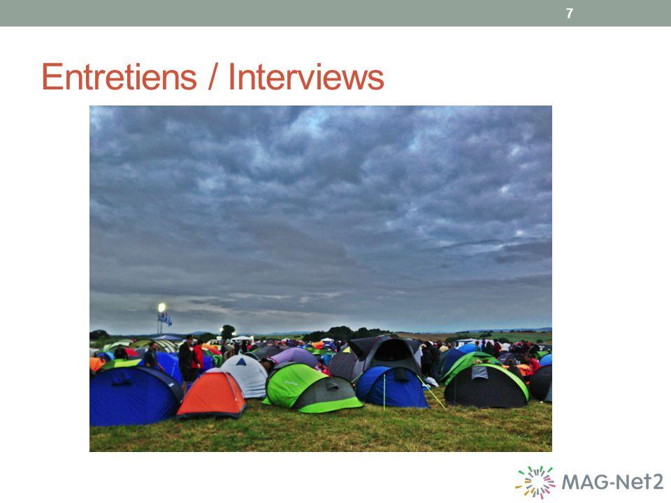 Entretiens / Interviews 7