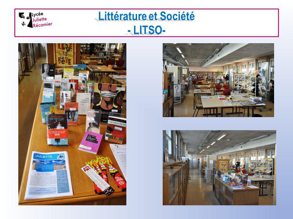 Littérature et Société - LITSO-