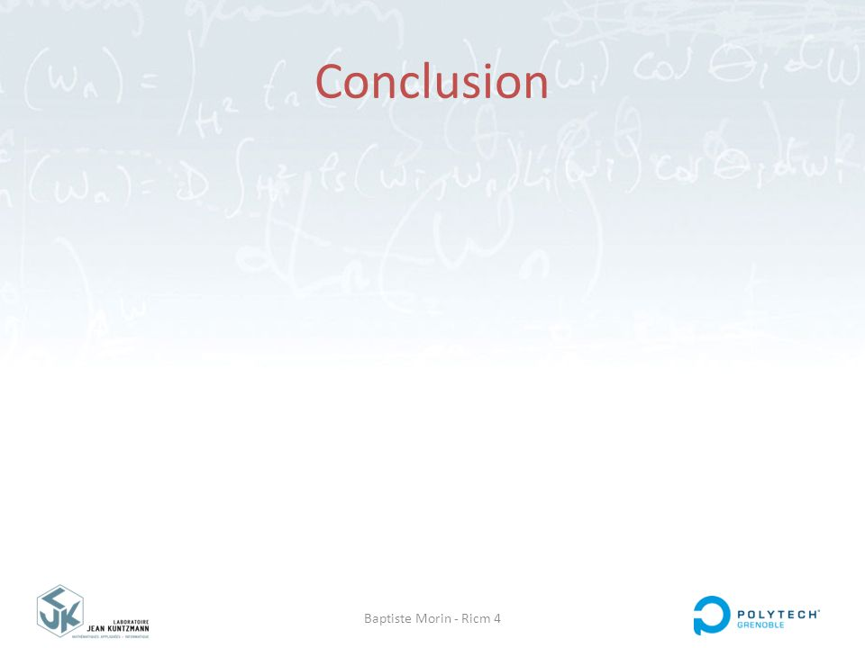 Baptiste Morin - Ricm 4 Conclusion