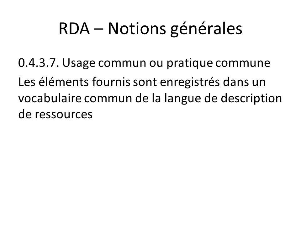 RDA – Notions générales 0.4.3.7.