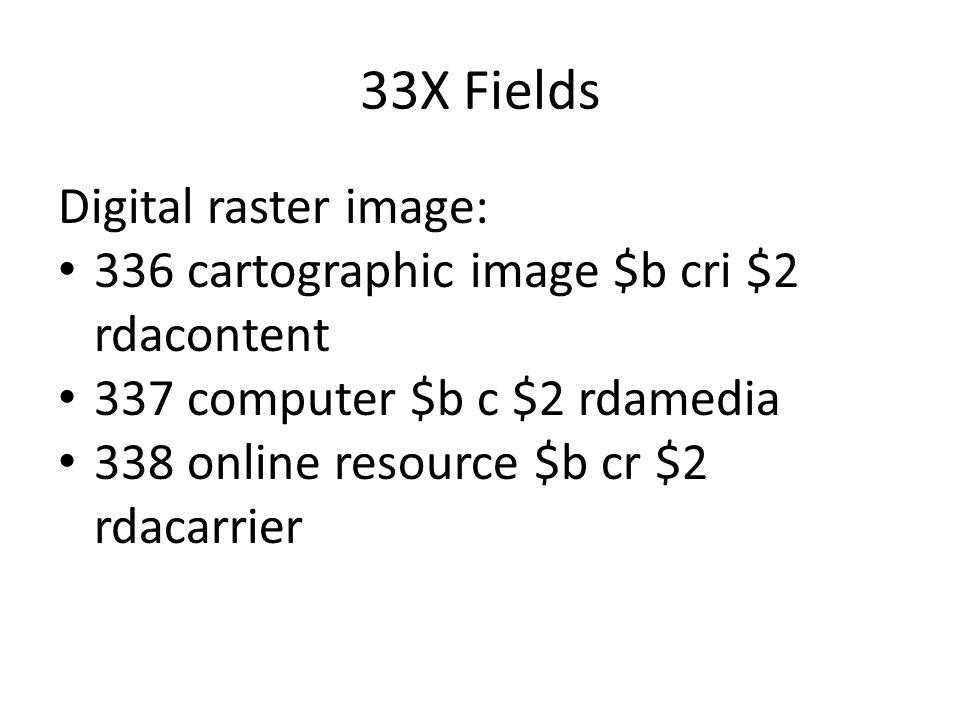 33X Fields Digital raster image: 336 cartographic image $b cri $2 rdacontent 337 computer $b c $2 rdamedia 338 online resource $b cr $2 rdacarrier