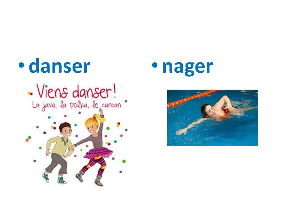 danser nager