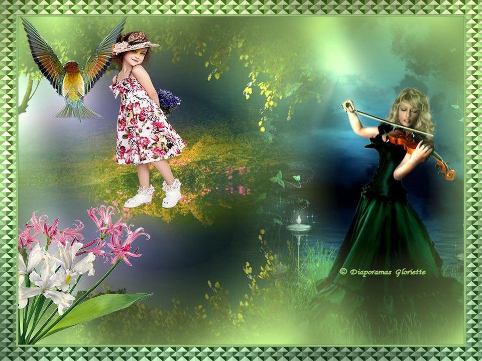 La musique du printemps, C'est le beau chuchotis du vent.