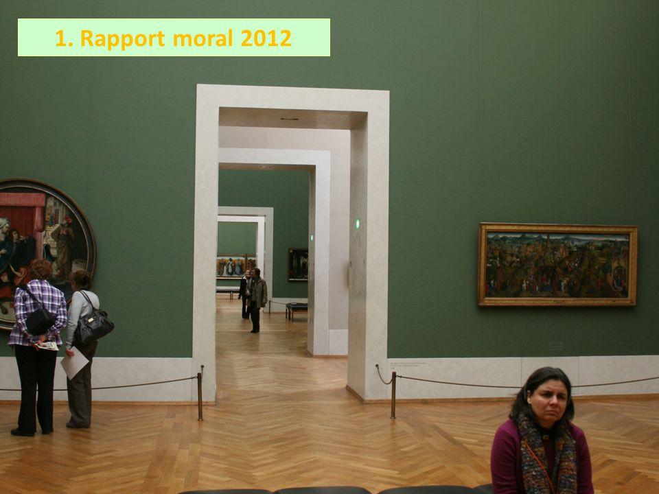 1. Rapport moral 2012