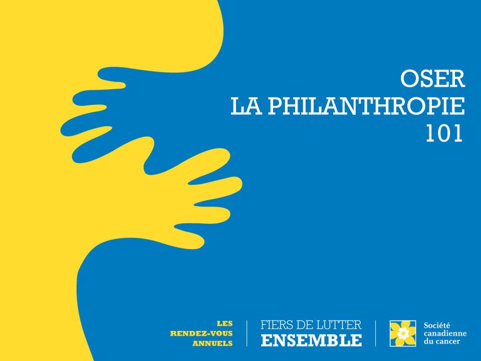 Innover en philanthropie : Quelques histoires à succès
