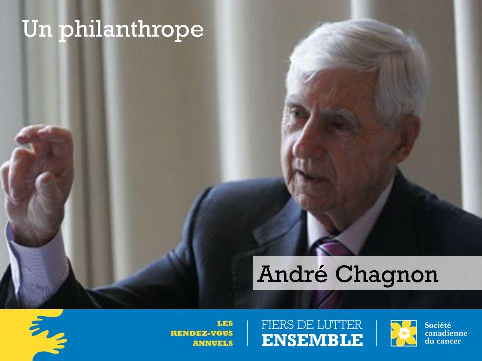 André Chagnon Un philanthrope
