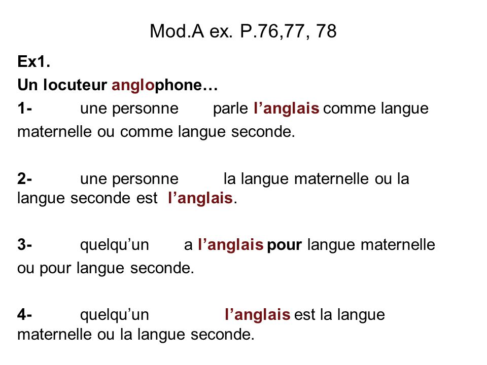 Mod.A ex.P.76,77, 78 Ex1.