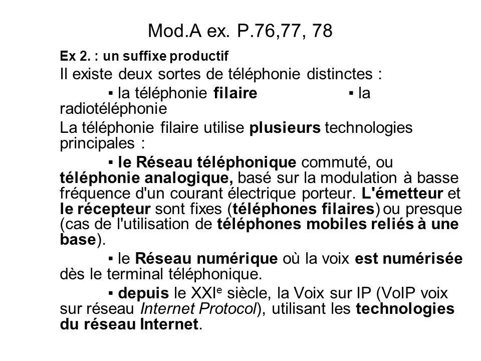 Mod.A ex.P.76,77, 78 Ex 2.