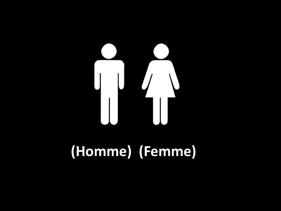 (Homme)(Femme)