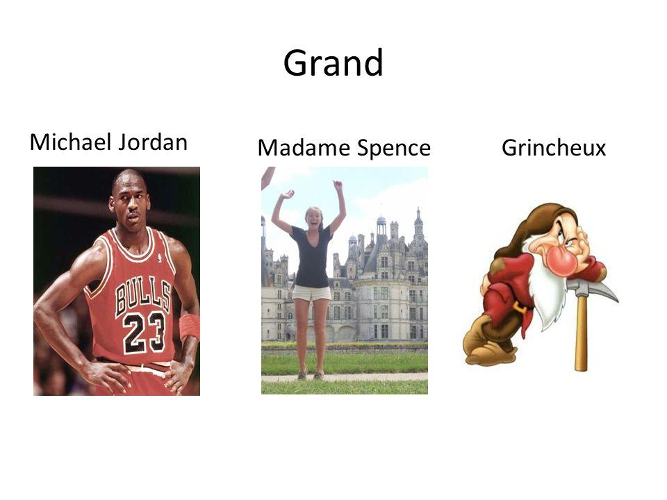 Grand Michael Jordan Madame SpenceGrincheux