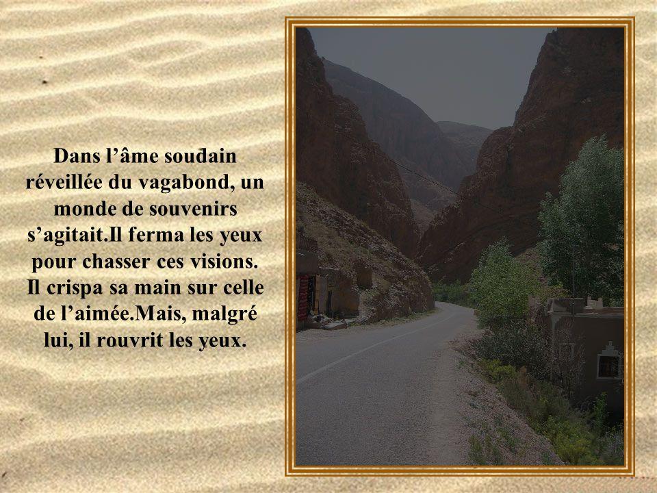 Longtemps, le vagabond regarda la route, la route large et blanche qui s'en allait au loin. C'était la route du Sud.