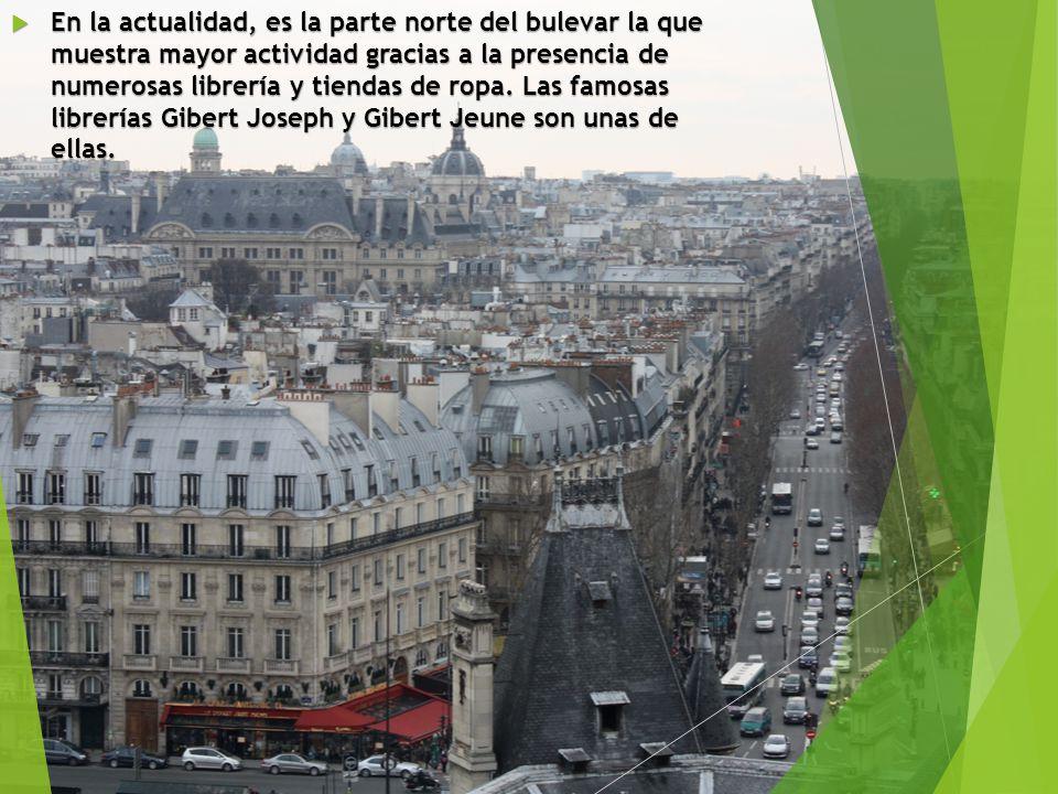 Durante Mayo del 68, su cercanía con la Sorbonne le convirtieron en un lugar habitual de enfrentamiento entre la policía y los estudiantes.