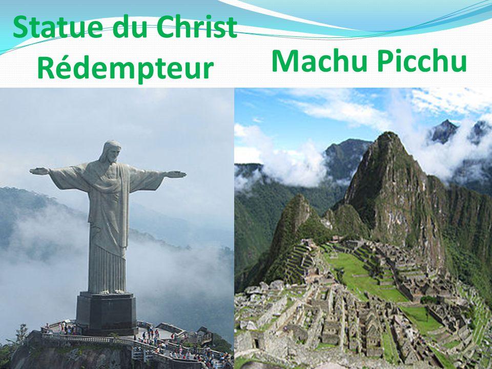 Statue du Christ Rédempteur Machu Picchu