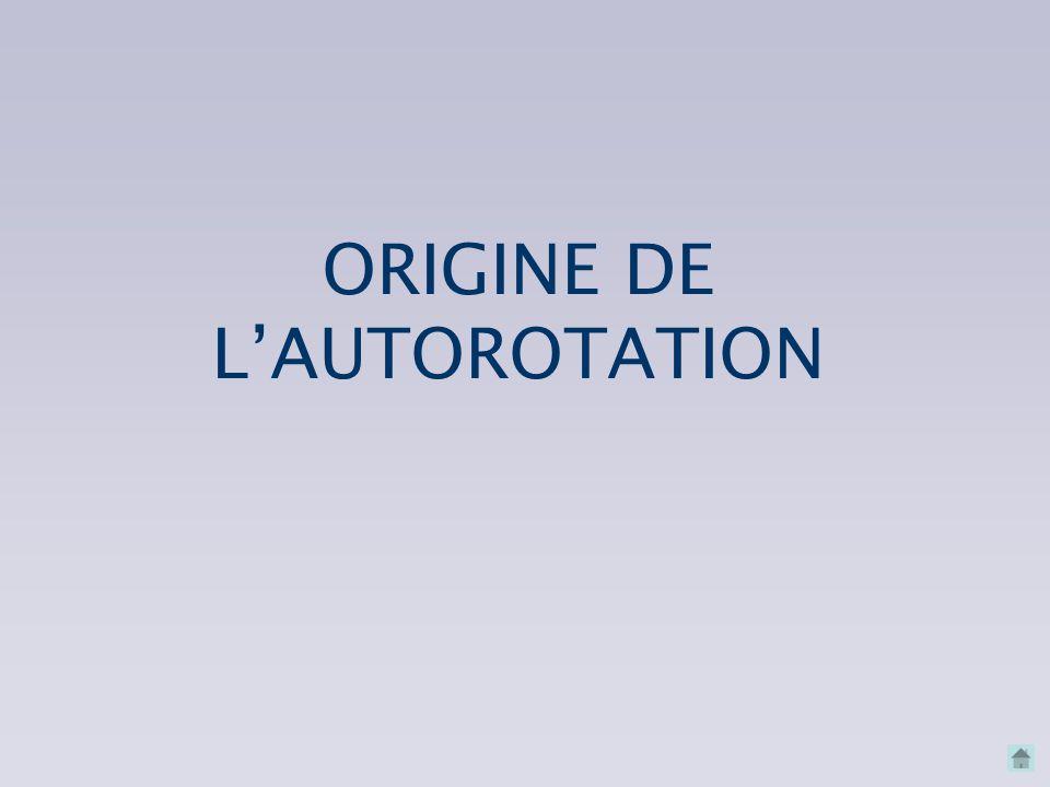 CNVV – septembre 2007 Mécanisme de l'autorotation r h : pas P RZRZ RxRx Le phénomène s'auto-entretient tant que les ailes ne retrouvent un comportemen