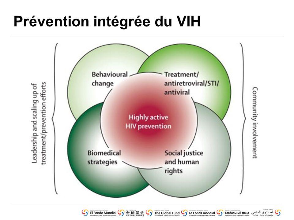 15 - Geneva, March 2010 Prévention intégrée du VIH