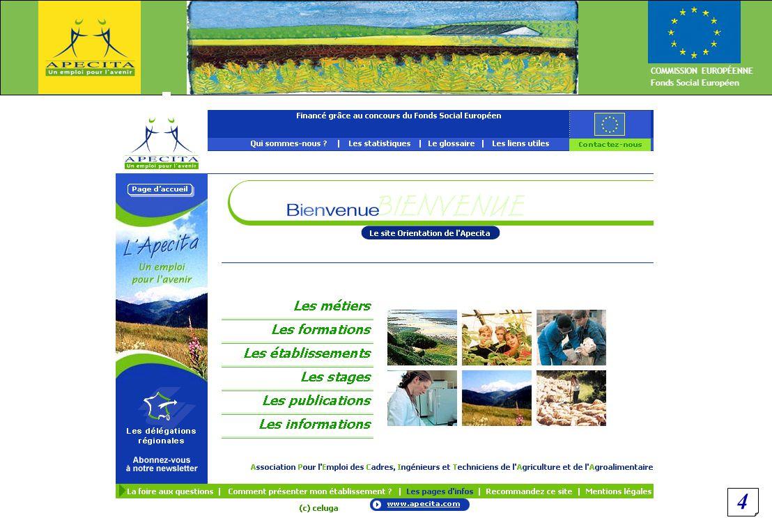 5 COMMISSION EUROPÉENNE Fonds Social Européen Les Offres de stage