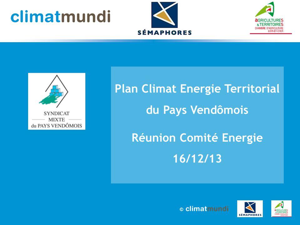 2 PCET pays Vendômois – Réunion Comité Energie de 16 décembre 2013 Sommaire 1.Déroulement du PCET 2.Phase diagnostic 3.Soirée du 21 janvier 4.Questions / réponses