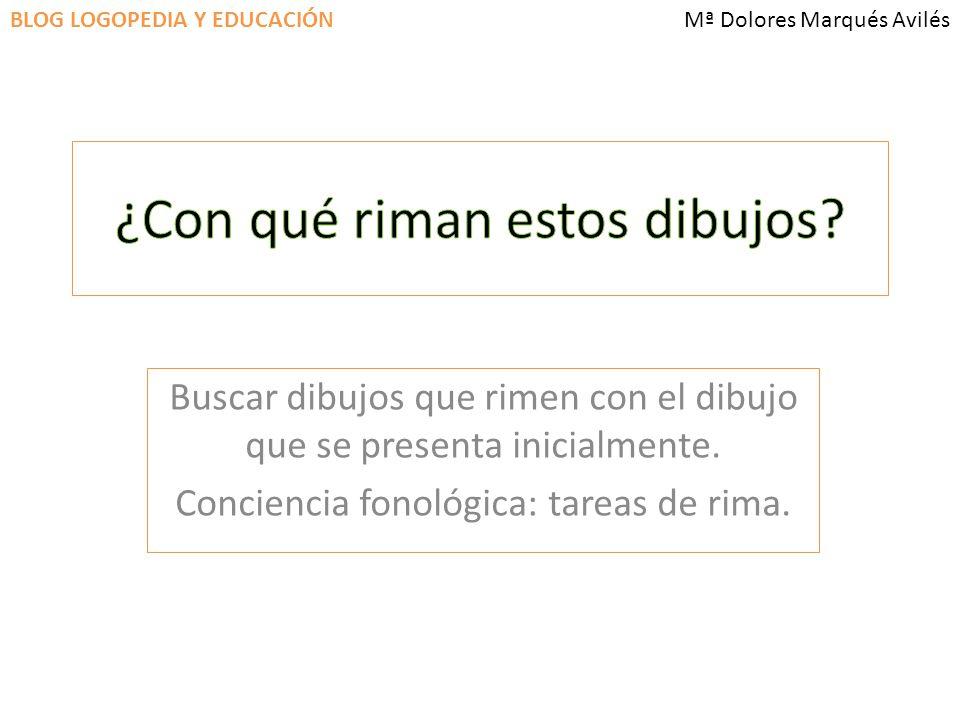 BLOG LOGOPEDIA Y EDUCACIÓNMª Dolores Marqués Avilés